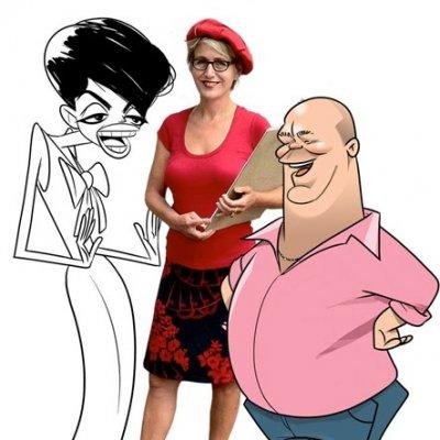 Karikatuurtekenaar - Marion | JB Productions