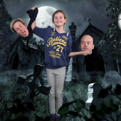 Halloween Greenscreen Fotografie