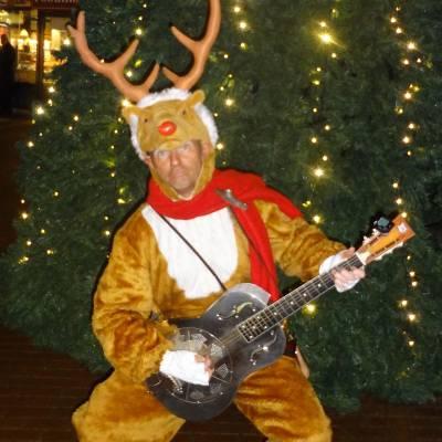 Muzikaal en Zingend Rendier Rudolf