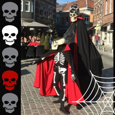 The Skeletons - Straattheater boeken of huren? | JB Productions