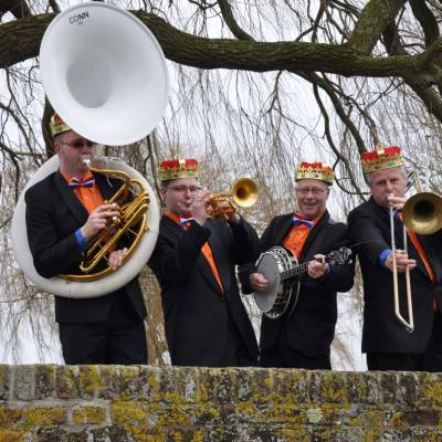Swinging Dixieband - de 4 Koningen inhuren of boeken? | JB Productions