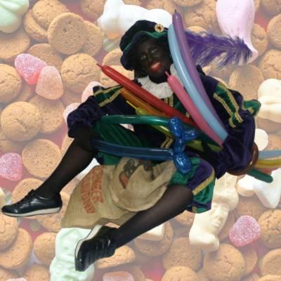 Ballonnen moduleer Zwarte Piet boeken of huren | SintenKerst