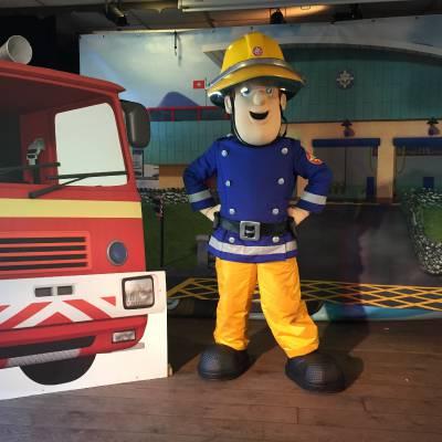 Brandweerman Sam Minishow - Welkom in Piekepolder boeken of inhuren? | JB Productions
