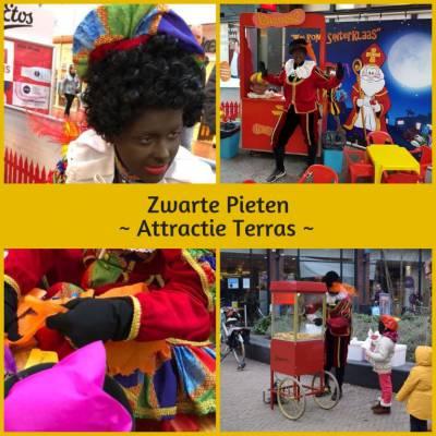 Zwarte Pieten Attractie Terras boeken of huren:? | SintenKerst