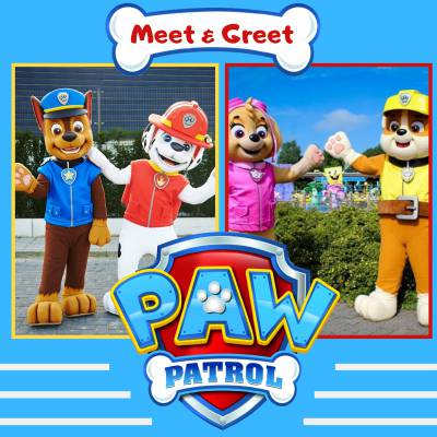Meet & Greet Paw Patrol inhuren of boeken? | JB Productions
