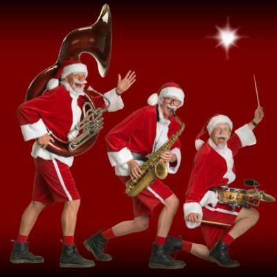 De Nieuwe Kerstmannen - Kerstmannen Fanfare inhuren of boeken | SintenKerst