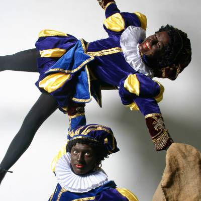 Acrobaat Zwarte Pieten