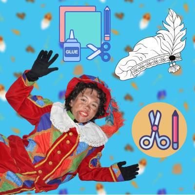 Kids Workshop - Zwarte Pieten Baretten maken boeken of huren? | SintenKerst