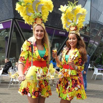 Fruit Girls - Fruit Uitdeelactie inhuren of boeken | JB Productions