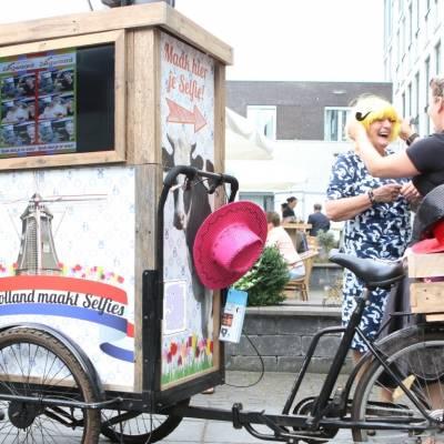 Hollandse Selfie Bakfiets huren | JB Productions