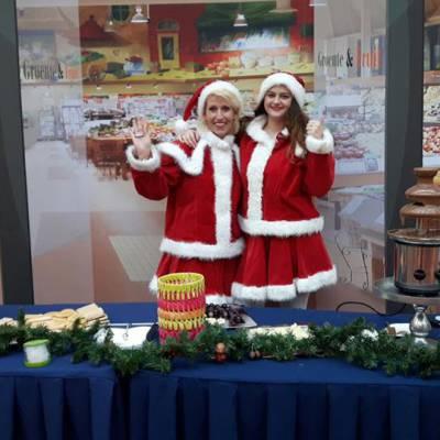 Kerst Chocolade Fonteinen boeken of inhuren? | JB Productions