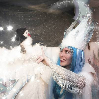 Sneeuwpopje en de Winterfee inhuren of boeken? | SintenKerst