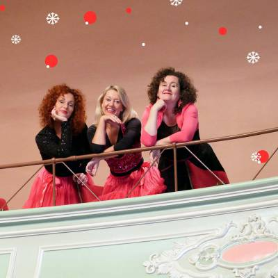 De Pauwergirls - Muzikaal Kerst Entertainment