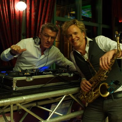 DJ Wim en Saxofonist Leslie boeken of inhuren? | JB Productions