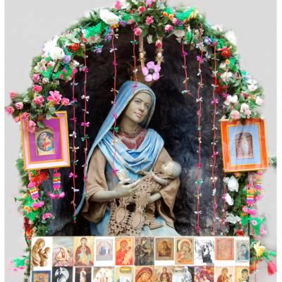 Maria met Kind - Levend Standbeeld inhuren of boeken? | Sint en Kerst