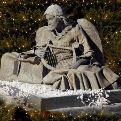 Gevallen Engel - Levend Standbeeld inhuren of boeken? | JB Productions