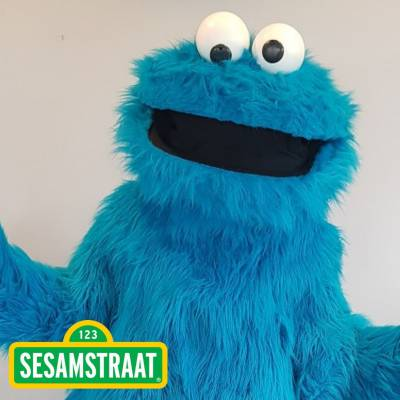 Meet & Greet Koekiemonster inhuren of boeken? | JB Productions