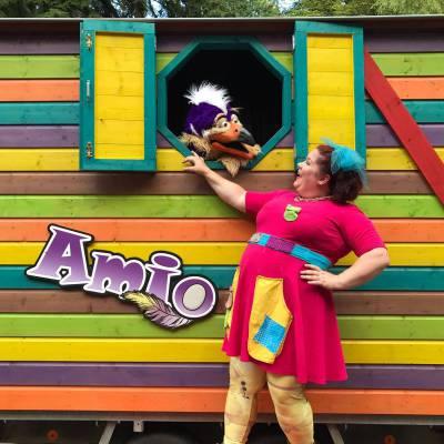 Amio Pipowagen inhuren of boeken? | JB Productions
