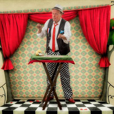 Straatgoochelaar John Anders boeken of inhuren | JB Productions