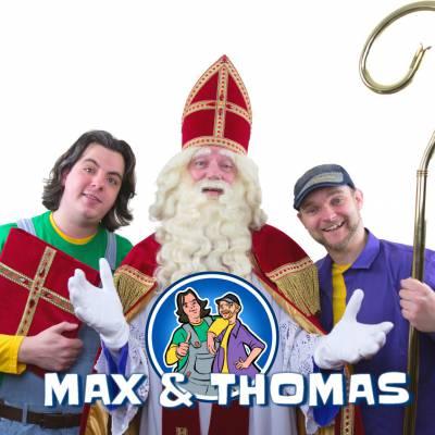 Max & Thomas - Pakken uit met Sinterklaas boeken of inhuren? | Sint en Kerst