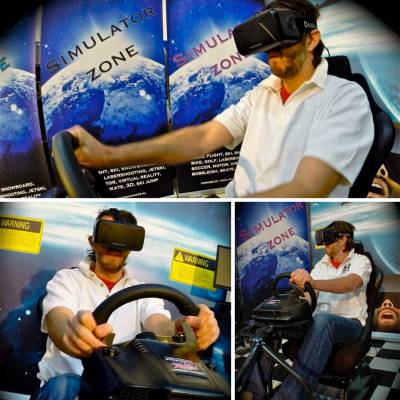 Virtual Reality Race Seat