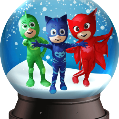 Snowglobe met PJ Masks boeken of inhuren? | JB Productions