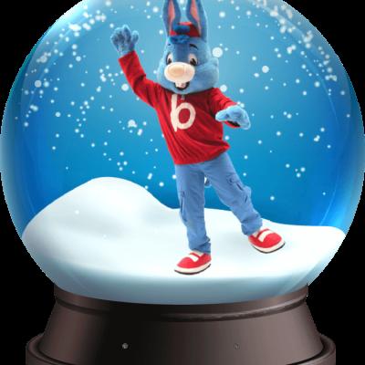 Snowglobe met Bobo boeken of inhuren? | JB Productions