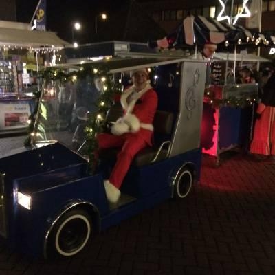 Rijdende Kerst Poffertjeskraam