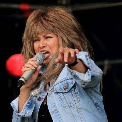 Tina Turner imitator