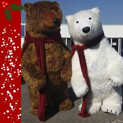 De Mega Kerstbeer boeken of huren? | JB Productions