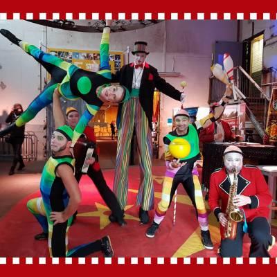 Het Kleurrijke Circus boeken of huren? | JB Productions