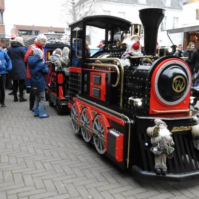 Treintje Huren - De JB Express in Kerst stijl