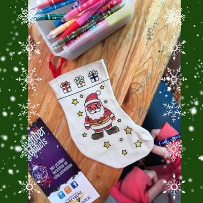 Kids Workshop - Kerstsokken Versieren