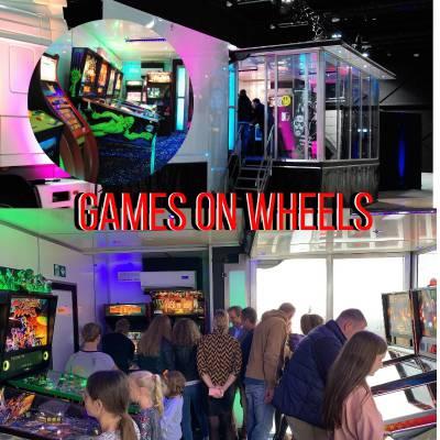 Games on Wheels - Mobiele Speelhal huren | JB Productions