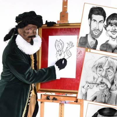 Karikatuurtekenaar - Piet Picasso boeken of huren? | JB Productions