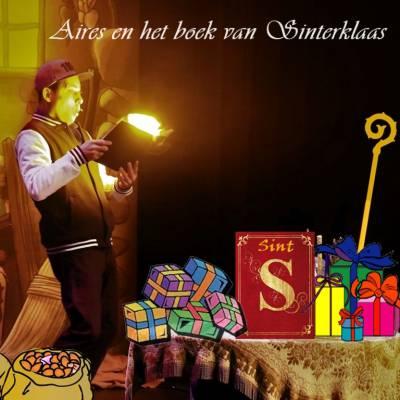 Aires Hovens - Het boek van Sinterklaas inhuren of boeken? | SintenKerst
