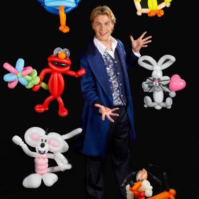Martijn de Ballonnenman inhuren of boeken? | JB Productions