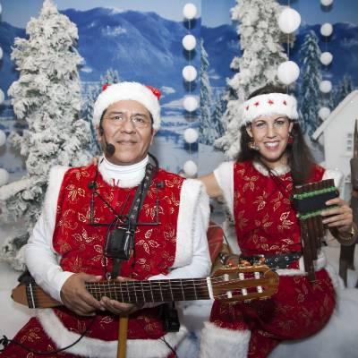Zingende Kerstfiguren boeken of huren | Sint en Kerst