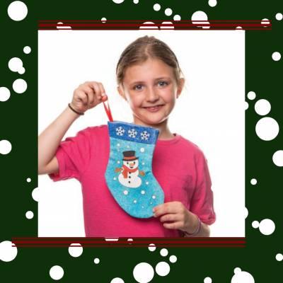 Kerstsok Knutsel Feest - Kerst Actie