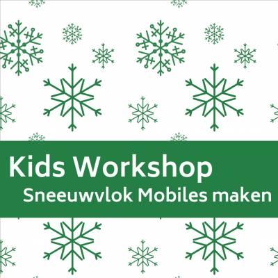Kids Workshop - Sneeuwvlok Mobiles Maken boeken of huren? | JB Productions
