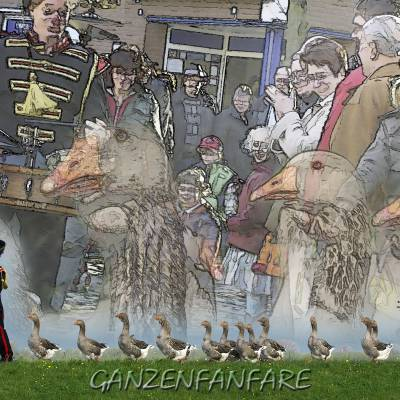 Ganzenfanfare inhuren of boeken? | JB Productions