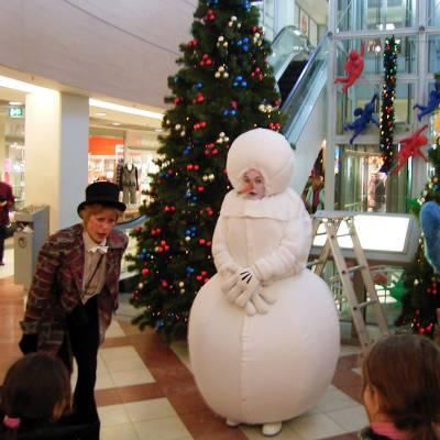 Stuffy de Schoorsteenveger en de Sneeuwpop