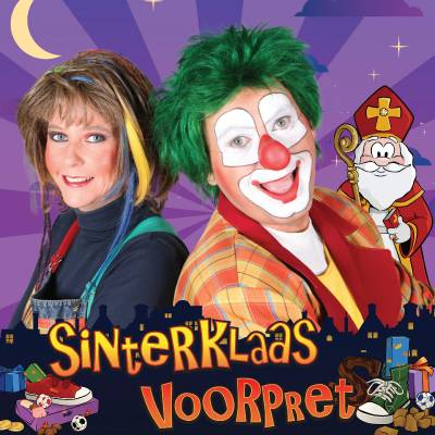 Clown Jopie & Tante Angelique Sinterklaasshow