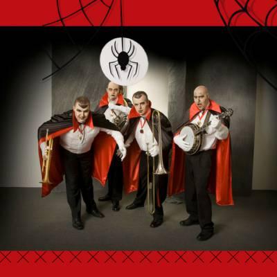 Swinging Dixieband als Dracula boeken of huren? | JB Productions