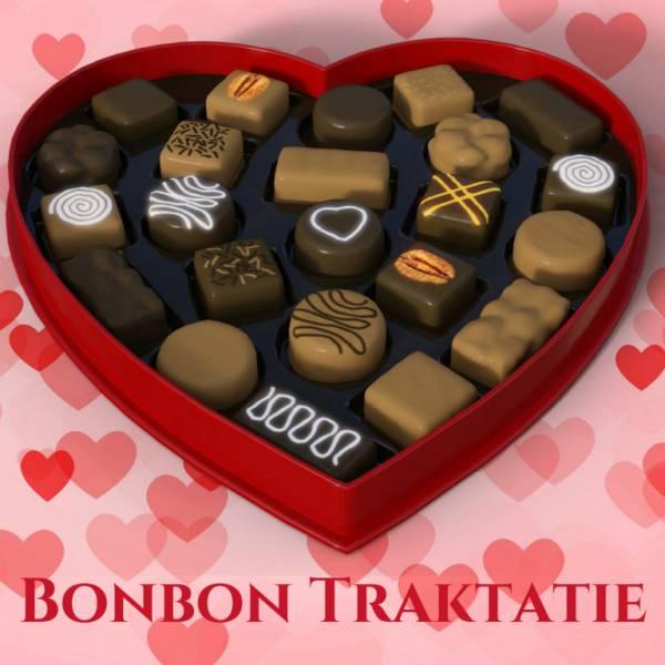 Bon Bon Traktatie - Uitdeelactie inhuren of boeken? | JB Productions