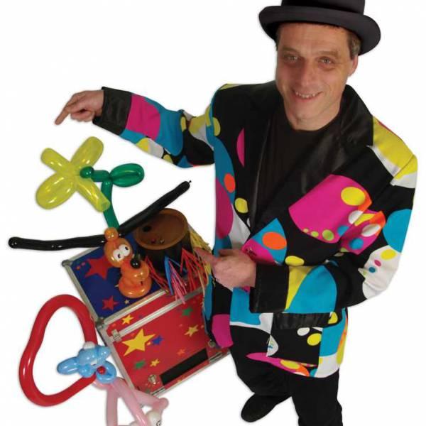 Ballonnenman Richard boeken of inhuren? | JB Productions