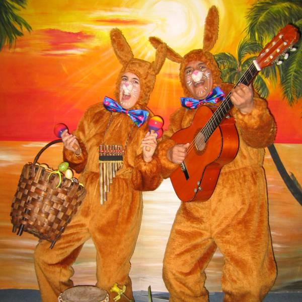 Zingende Paashazen - Los del Sol boeken of inhuren? | JB Productions