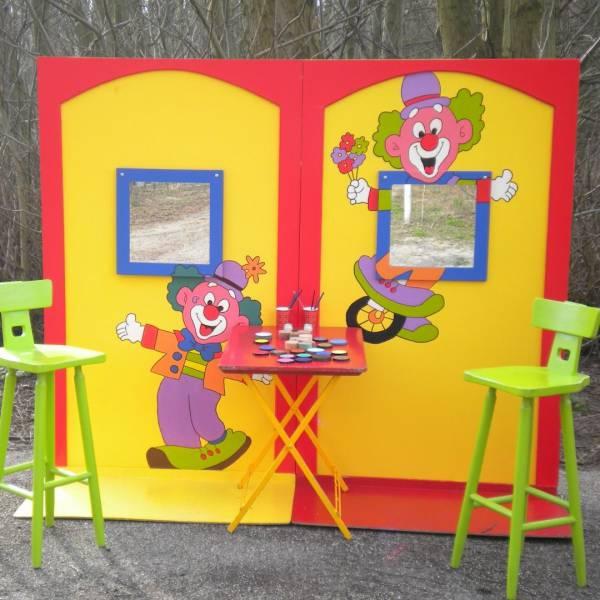 De Clowns Schminkstand inhuren of boeken? | JB Productions
