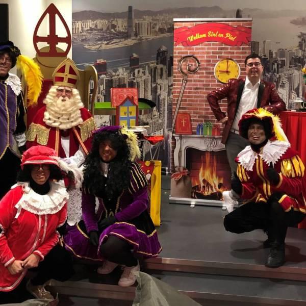 Sinterklaas en zijn goochelpiet boeken of inhuren?   JB Productions