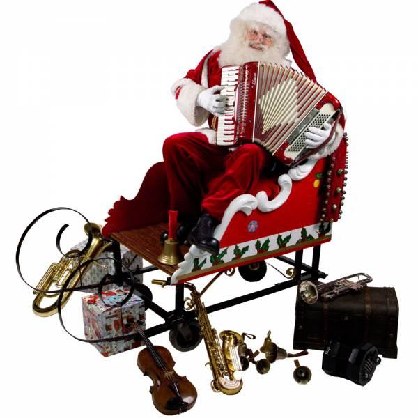 De Muzikale Kerstman boeken of inhuren? | SintenKerst